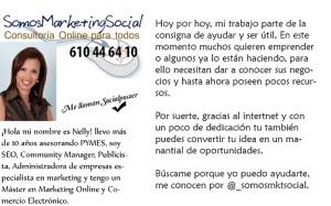 somosmarketingsocial tarjeta de visita